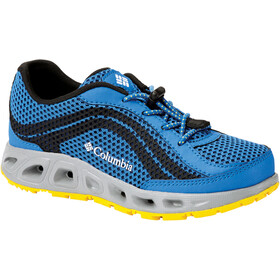 Columbia Drainmaker IV Schuhe Kinder stormy blue/deep yellow